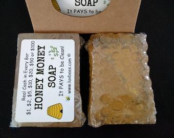 Honey Lovin Money Soap - Mystery or Pick the Cash Amount