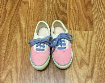 Vintage Gitano Toddler Tennis Shoes Pastel SZ 9