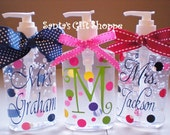 Items Similar To Hand Sanitizer Personalized One 8 Oz