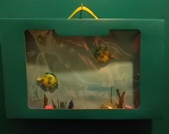 Teal Fish Tank