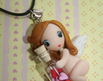 Necklace Angel in Love