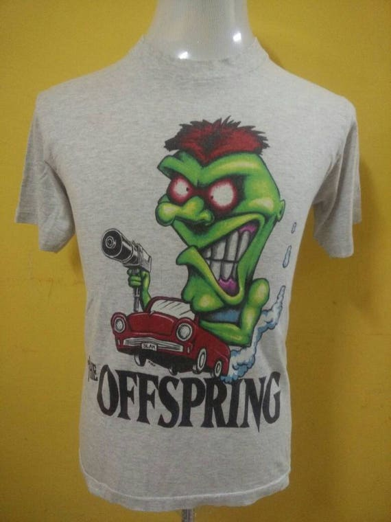Rare!!Vintage 90's The Offspring t-shirt Punk / Punk Rock / Punk Hardcore / Pop Punk / Skate Punk / Alternative Rock P0uaApUyoL