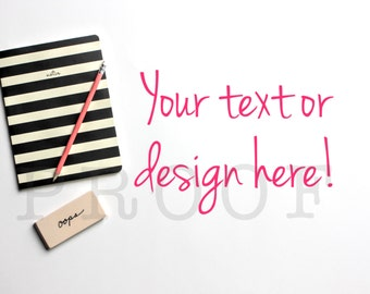 SALE! Darling Notebook Styled Stock Photo