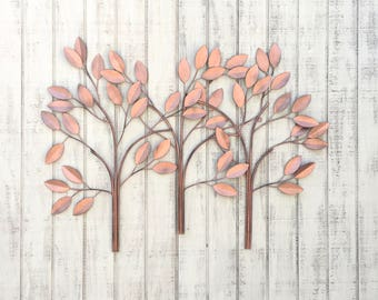 More colors. Large Wall Art ...  sc 1 st  Etsy : copper tree wall art - www.pureclipart.com