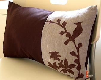 SALE Slate Cardinal Throw Pillow