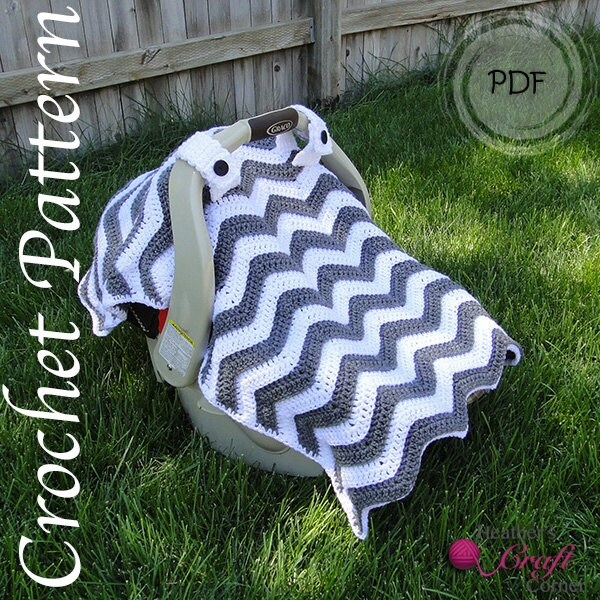 Crochet Infant Car Seat Cover Pattern Free Velcromag