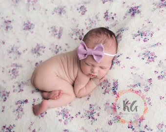 Classic Bows, Felt Bow Headband, Baby Hair Bows, Nylon Headband, Baby Headbands, Newborn Headband, Baby Girl Headband, Baby Bows, Hair Clips