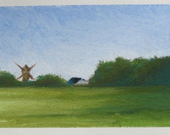 Windmill in the Countryside