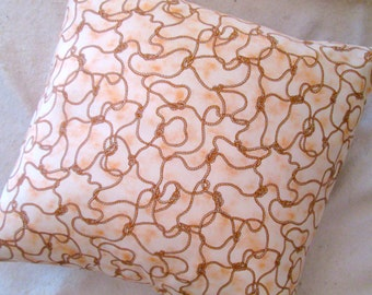 "Rope Design Cotton 18"" Pillow Sham"