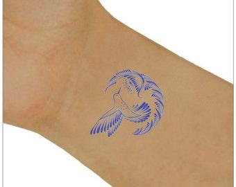 Hummingbird Temporary Tattoo 2 Wrist Tattoos