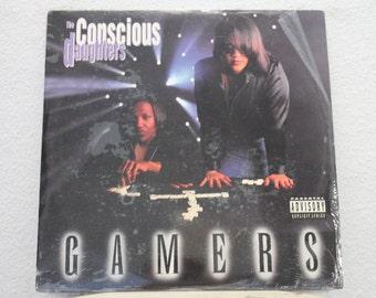 """The Conscious Daughters - """"Gamers"""" vinyl records, album, 2 LPs, Original"""