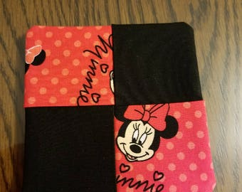 Minnie Mouse hand sewn coasters