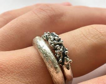 Enamelled Crustaceans Ring II