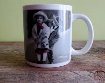 VERKERKE Boy and Girl Photoprint Mug Vintage Photograph Mug