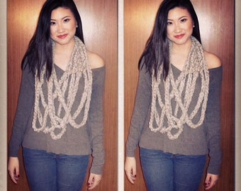 Tie The Knot Chain Scarf