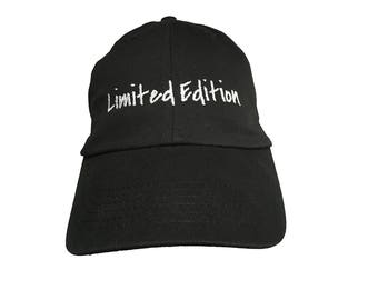 Limited Edition (Polo Style Ball Cap - Black)
