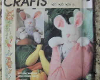 McCall 2349 Stuffed bunny and bunting