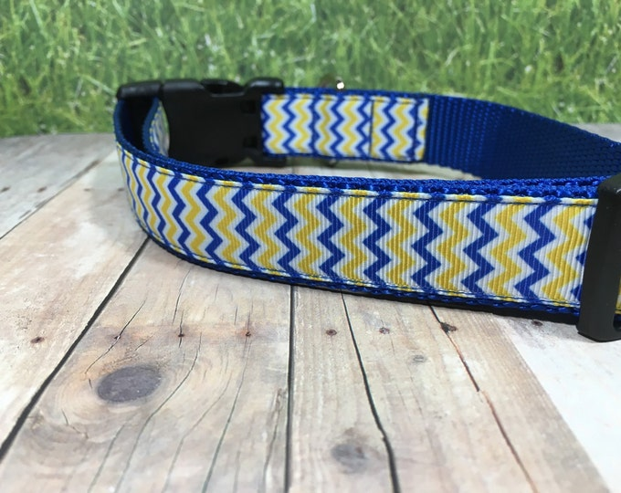"The Plato | Designer 1"" Width Dog Collar 