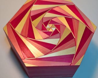 Box hexagonal