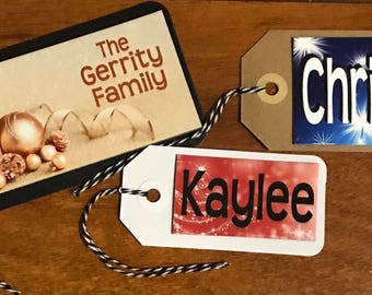Large Gift Tag Magnet - Personalized! A Gift Tag & Present All in One!