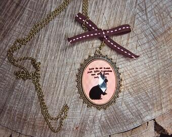 Rabbit Necklace ~1 pieces #100406