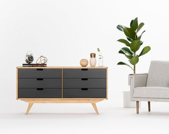 Chest of drawers, sideboard, credenza, dresser, cabinet, commode, mid century modern