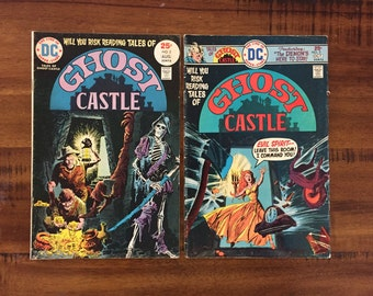 1975 Ghost Castle #2 and #3 Comic Books/ DC Comics/ Choose One or Both for a Discounted Price!
