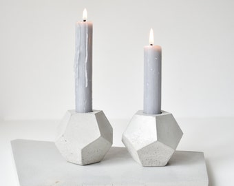 GEOMETRICA | Concrete Planter - Candle Holder