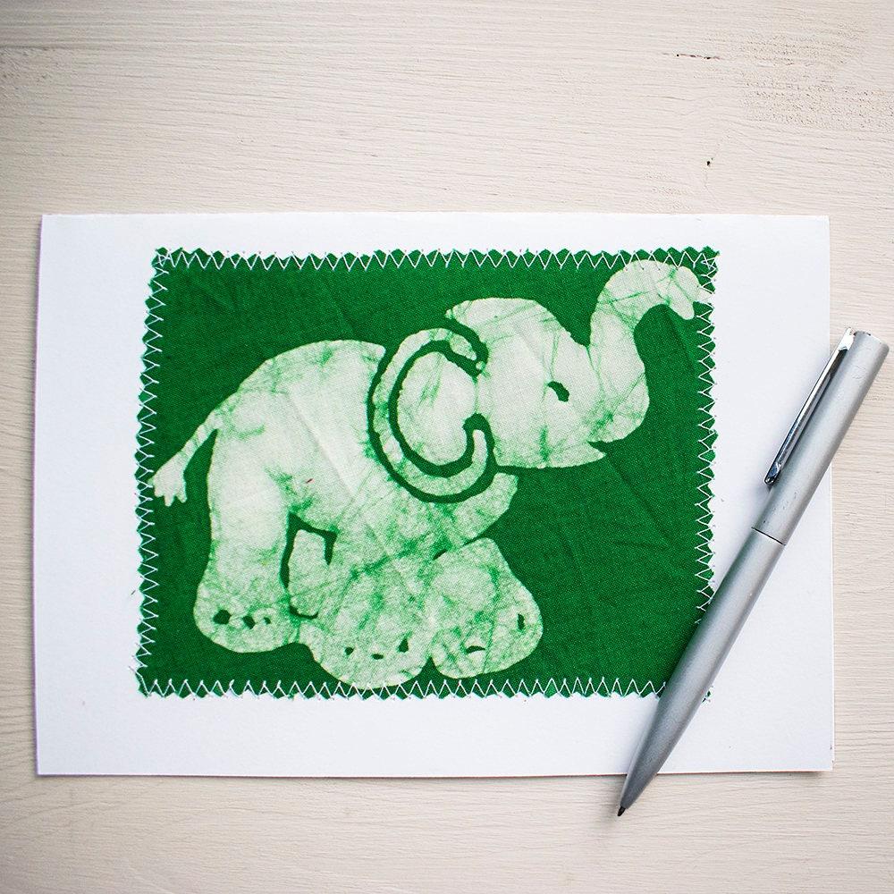 Ellie The Elephant Birthday Card Greeting Cards Handmade