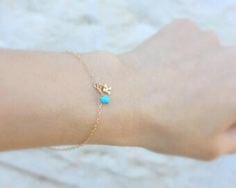 Super Dainty Initial Bracelet Delicate Personalized Bracelet Tiny Initial Bracelet,Initials Jewelry 14k Gold Fill or Sterling silver