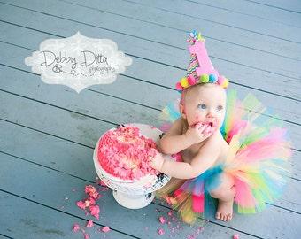 Candy Rainbow Tutu, 1st Birthday Tutu, Carnival Tutu, Candy Tutu, First Birthday Tutu