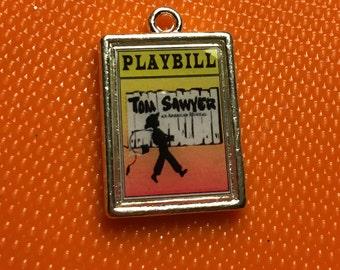 Theater / Show Charm - Playbill Play Bill - TOM SAWYER