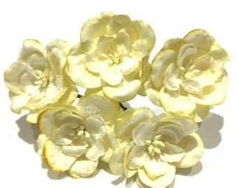 Lemon Mulberry Paper Magnolias Mag008
