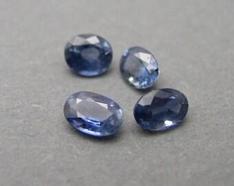 Blue Sapphire , 4 pieces, 2,65 ct