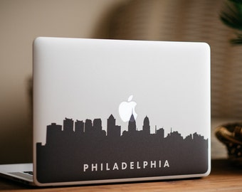 Philadelphia Skyline MacBook Decal Sticker - by FP - DecalGirl
