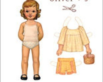 Oliver + S Class Picnic top and shorts pattern