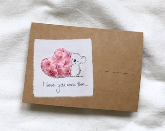 Valentines Love Note and Decorative Envelope by CsevenM