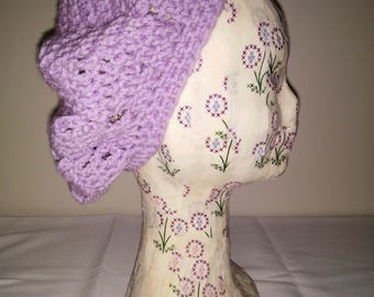 Purple Slouchy Beret