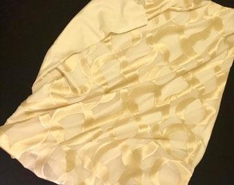 9273Original golden velvet pattern with silk woven back