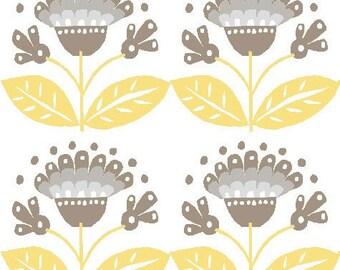 Sale, Organic Cotton Fabric, Monaluna, Bloom, Haven, by the half-yard