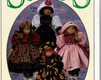 Syndees's Crafts Fashion Show Doll Clothes Sewing Pattern