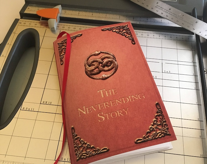 INSTANT DOWNLOAD The Never Ending Story DIY Notebook Printable Download