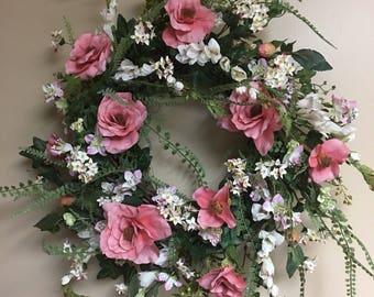Spring /summer wreath
