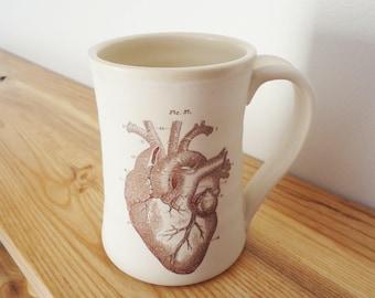 Anatomic Heart Mug