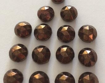 RARE Vintage Nailheads - 7mm Bronze Color