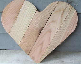 Reclaimed Pallet Wood Heart -Rustic, Love, Romance, Valentine's Day, Wedding, Reclaimed