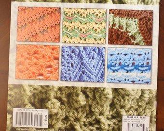 Stylish Texture:  8 crochet afghans.