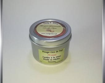 Candle wax from soy Strawberry scent