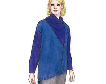 Sewing Workshop PATTERN - Barcelona Top - Sizes XS to XXL