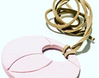 Handmade Pink Necklace/choker